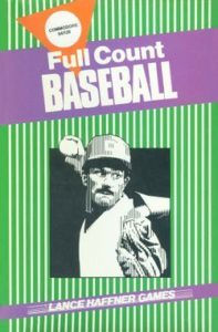 Full Count Baseball front cover
