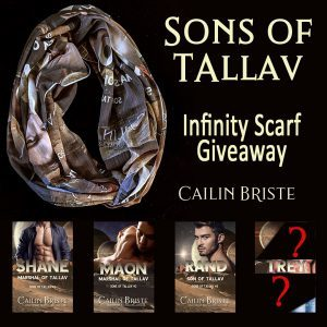 Sons of Tallav Infinity Scarf Giveaway