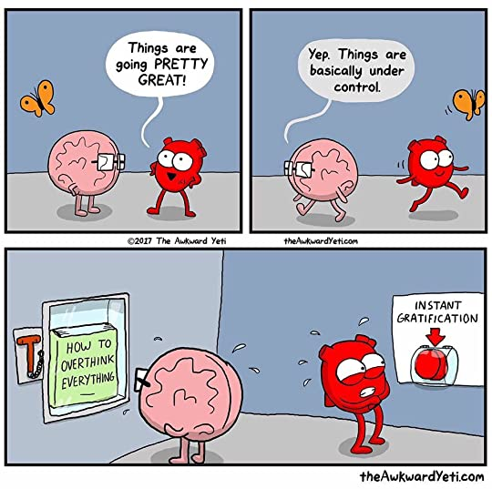 Heart and Brain: An Awkward Yeti Collection by Nick Seluk