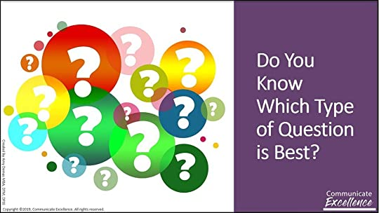 5 Categories of Questions and question marks
