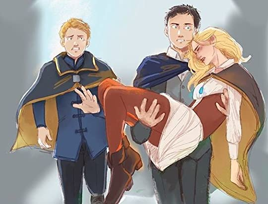 Fitz carrying Sophie
