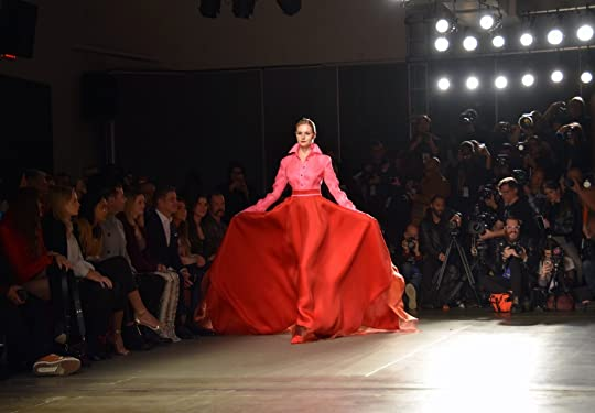 "Red and Pink Gown | Photo Credit Joey Wang | Zang Toi — ""New York, New York"" F/W 2020 article by Cindy Ann Peterson"