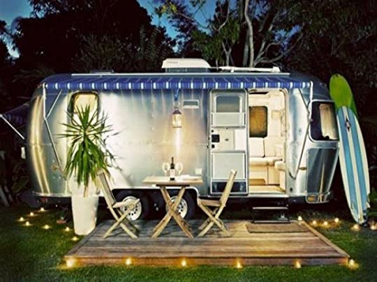 Image result for airstream trailer with porch