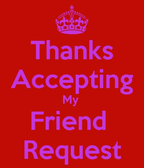 Image result for thanks friend request