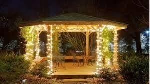 gazebo with twinkle lights - Google Search