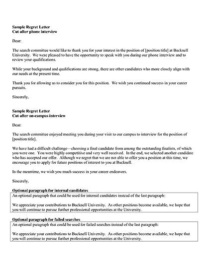 Regrets Letter After Interview from i.gr-assets.com