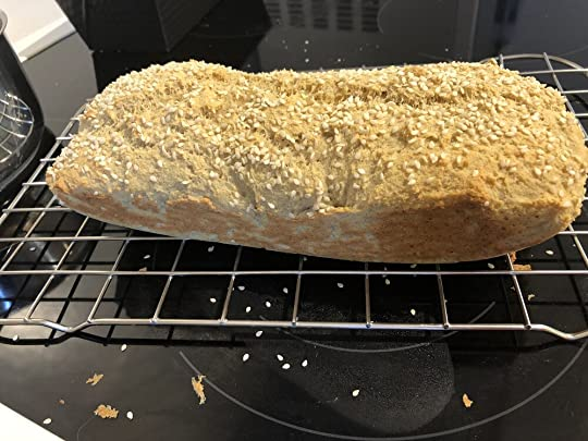 LCHF bread - wonderful way to connect with my main character Nina in Hope Island, who, unlie me, is a whizz in the kitchen