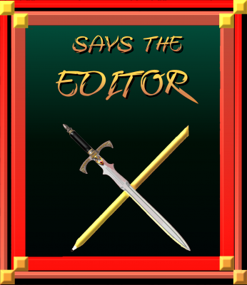 Graphic of a crossed sword and a pencil