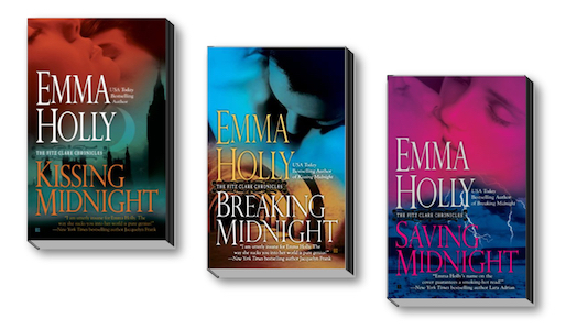 Fitz Clare trilogy covers