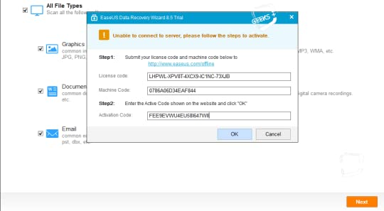 easeus data recovery wizard free trial