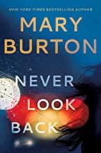 Mary Burton, Never Look Back Cover Art