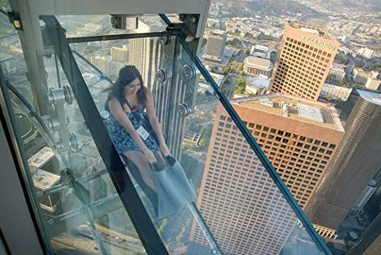 glass tube slide off a building - Google Search