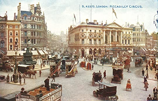 London, Piccadilly Circus, c.1900.