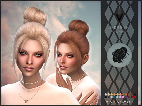Downstage Discernments Sims 4 Custom Content Hairl Showing 1 1 Of 1