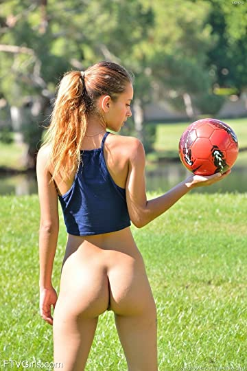 Women football nude video
