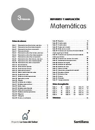 Dealing With Ib Refuerzo Y Ampliacion Matematicas 6o Primaria Santillana Pdf Download 1 Showing 1 1 Of 1