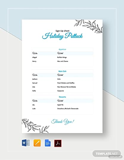 It's just an image of Printable Potluck Sign Up Sheets throughout potluck invitation