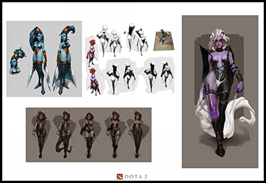 Joe Kulick - Dota 2 Concept Art Bookl Showing 1-1 of 1