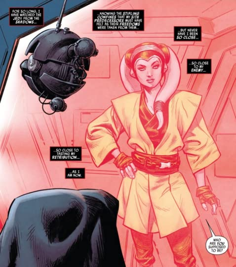 Also, she's a very hot twi'lek, and y'all know I can't say no to that.