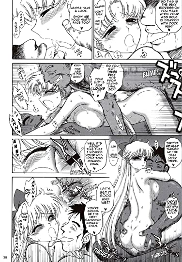 Sailor Moon Hentai Comic