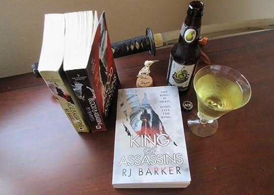 age of assassins blood of assassins king of assassins rj barker the bone ships the heron kings eric lewis fantasy grimdark
