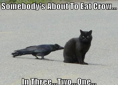 Eat the crow