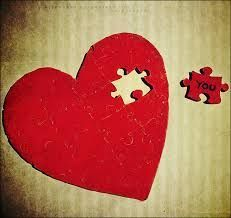 missing piece to her heart - Google Search