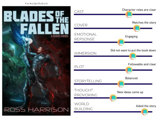 Blades of the Fallen reading experience