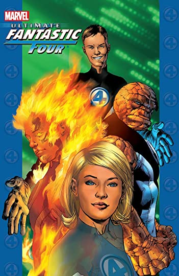 Ultimate Fantastic Four Volume 1 The Fantastic By Brian Michael