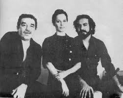 Marquez (on left) with Littin (on right)