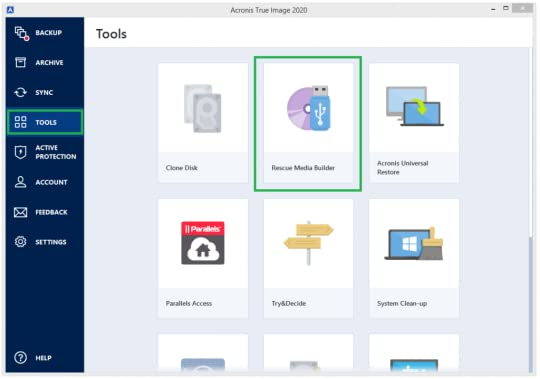 Acronis true image 2020 build 22510 bootable iso file