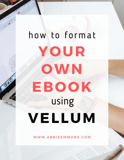 how to format your own ebook using vellum