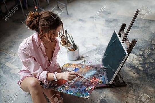 beautiful female painter - Google Search