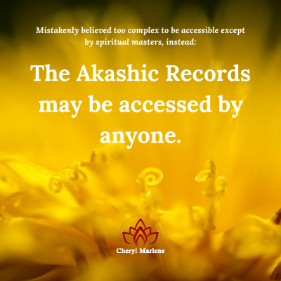 New Light of Possibility for the Akashic Records by Cheryl Marlene