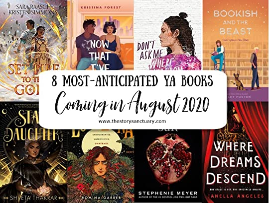 8 Most-Anticipated YA Books Coming in August 2020