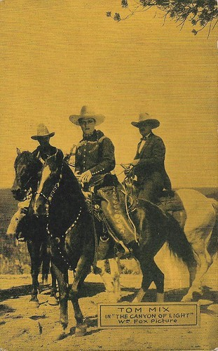 Tom Mix in The Canyon of Light (1926)