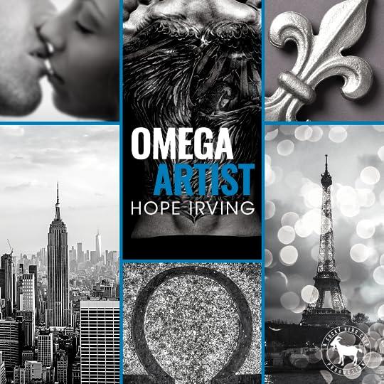 Omega Artist (A Cocky Hero Club novel)