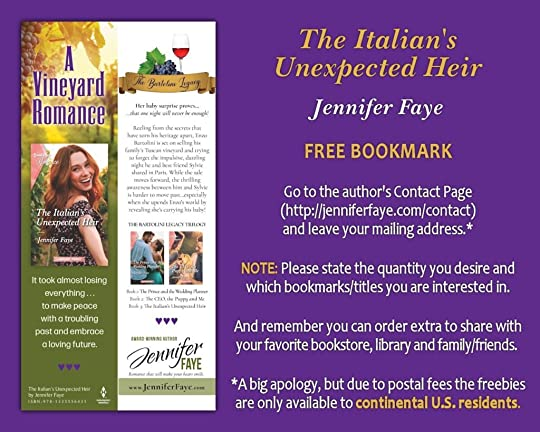 Bookmark - The Italian's Unexpected Heir