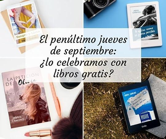 El penúltimo jueves de septiembre: ¿lo celebramos con libros gratis?