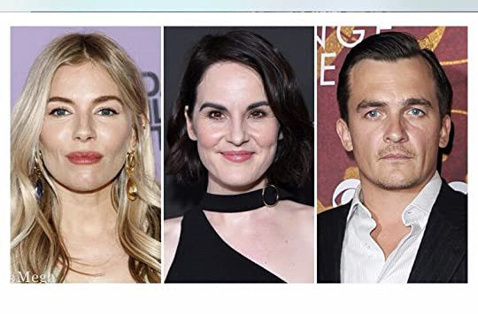 Sienna Miller, Michelle Dockery, and Rupert Friend - my Sophie, Kate and James.