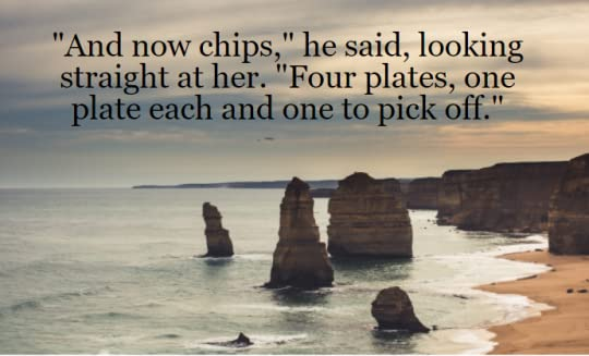 Photo of Twelve Apostles in Victoria with Maeve Binchy quote