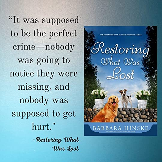restoring what was lost quote