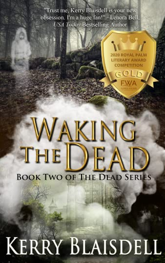 Waking the Dead cover with Gold Award