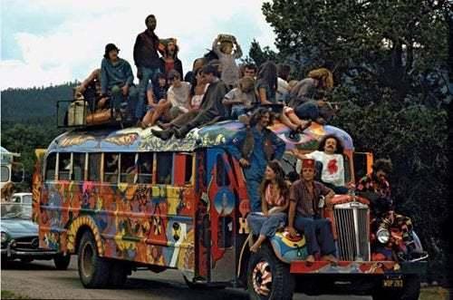 r/LSD - The Original Furthur Bus, with the Original Merry Prankster