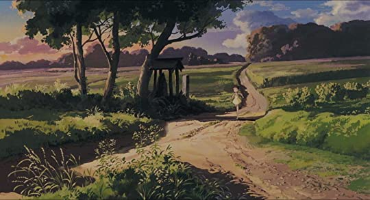 Japanese countryside in anime