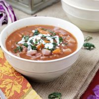 Red Cabbage Soup with Caraway Seeds