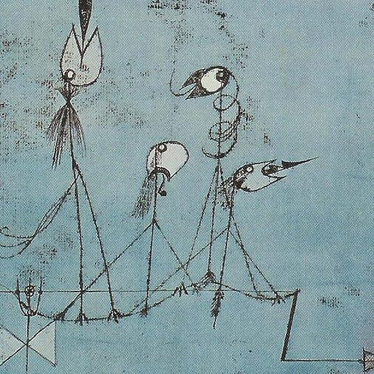 Paul Klee Twittering Machine (Die Zwitscher-Maschine)