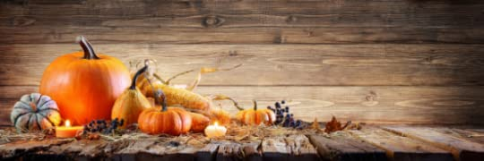 Image: some decorative fall gourds