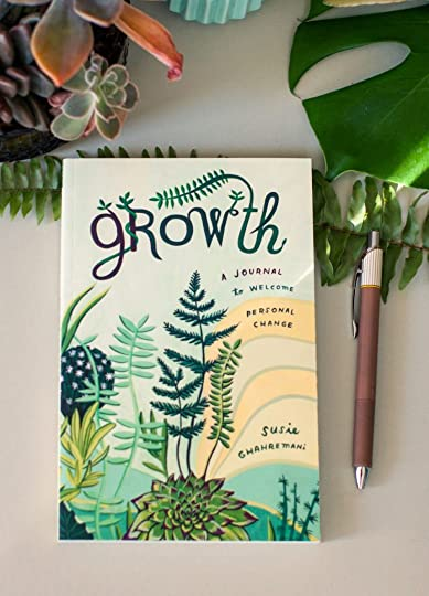 Growth: A Journal to Welcome Personal Change is a journal that helps you center your intentions, habits, and goals.