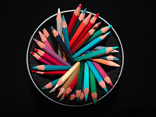 5 things I did instead of NaNoWriMo www.ranjanirao.com writing colored pencils